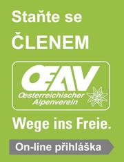 Stát se členem Alpenverein
